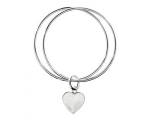 silver-bangle-bracelet_TBL447 Heart bangle_640x426