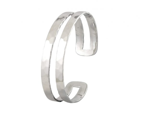 Sterling Silver Torque Bangle Item STQB5 | nichellejewellery.com