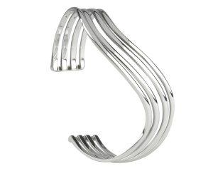Silver Torque Bangle Item STQB7N