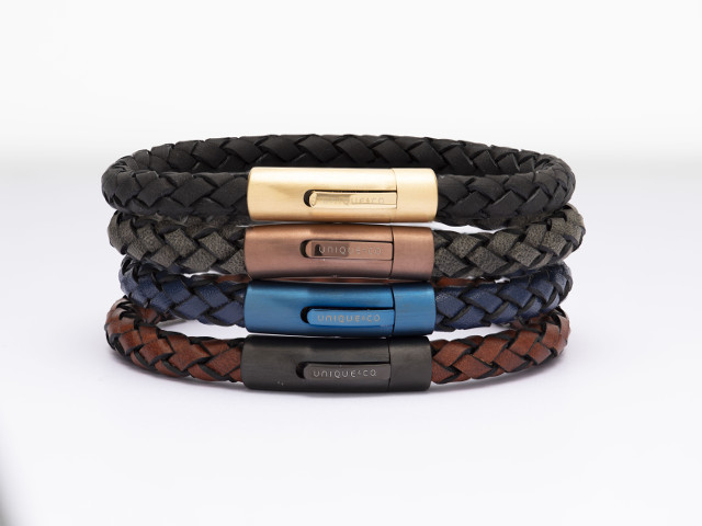 Leather Designer Bracelets for Men